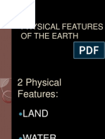 Physical Features of the Earth