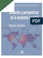 PIRDH1 ONU Situacion y Perspectivas de La Economia Mundial 2012