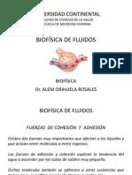 CLASE N° 11 - BIOFÍSICA DE FLUIDOS