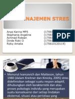 Manajemen Stres Ppt