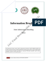 JAC Admission Brochure