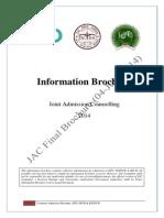 JAC Admission Brochure