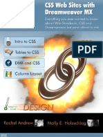 CSS Web Sites with Dreamweaver MX - 2004