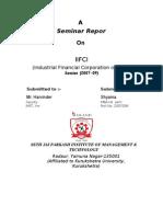 Semianr IFCI