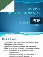 Lípidos y Dislipoproteinemias 1