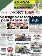 Periódico Norte edición del día 6 de julio de 2014