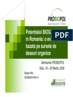 Sibiu Potential