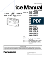 Service Manual Panasonic DMCF3T