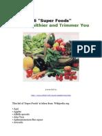 46 Super Foods