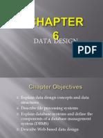 Chp6 Data Design