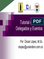 C# - Delegados y Eventos