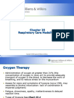 Ch. 25- Respi. Care Modalities