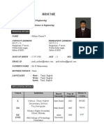 RESUMÉ_mithun _final-1
