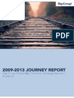 2009-2013 Journey Report for the Economic Development Board (Singapore)