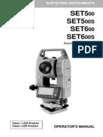 Set600 Operational Manual
