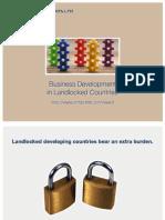 Business Development in Landlocked Countries