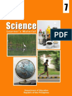 K to 12 Science Grade 7 Learners Material - Module