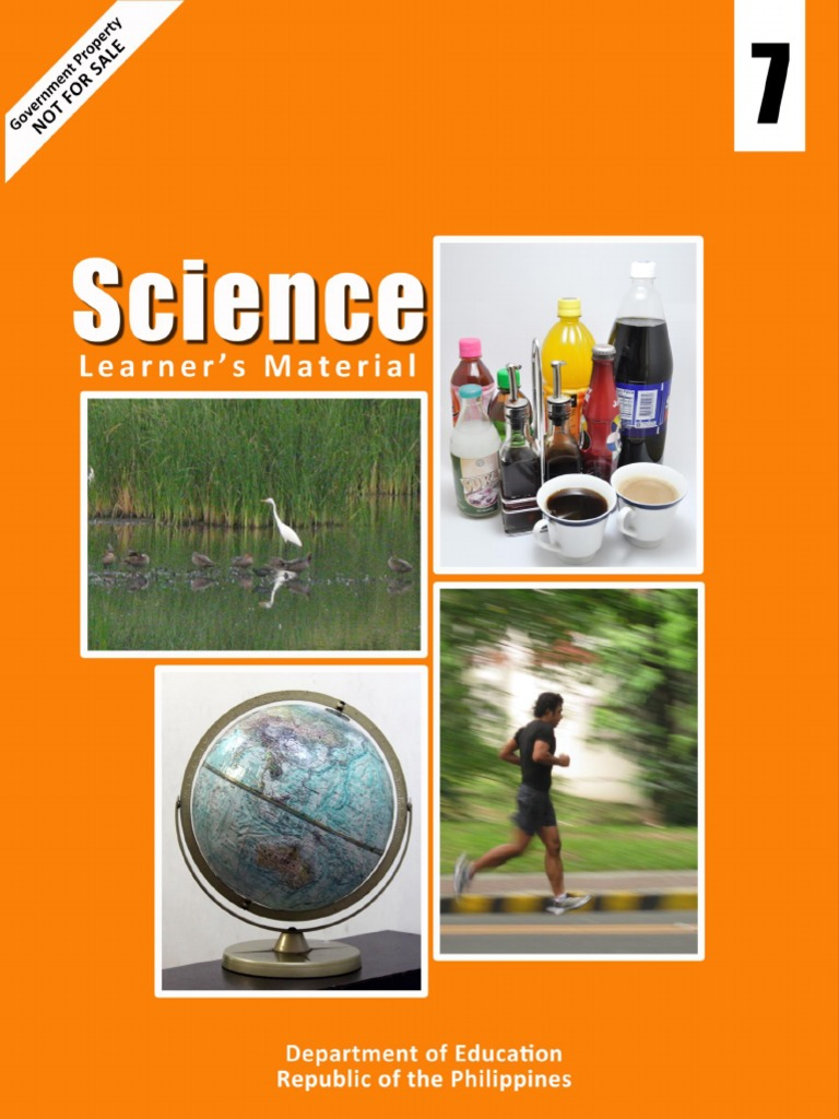k to 12 science grade 7 learners material module solution teaspoon rh es scribd com 7th Grade Science 5 Grade Science Fair Projects