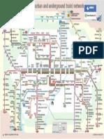 Schnellbahnnetz 2014 DB Englisch