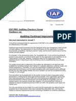 APG AuditContinualImprovement.doc