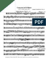 Vivaldi d Minor Va