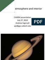 Saturn Atmosphere & Interior