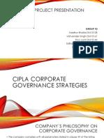 Corporate Governance Strategies