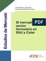 Mercado Sector Ferroviario en EAU y Catar