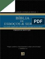Biblia de Esboços e Sermões - FILEMON