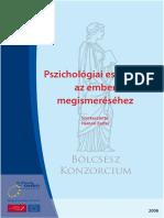 Pszichológiai Eszközök Az Ember Megismeréséhez