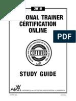 AFAA Online Certification