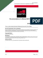 GSMA TS.22-v2.0