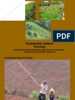 Sustainable Upland Farming