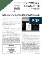 Human Design Newsletter