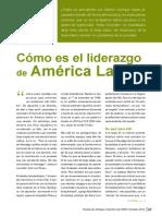 Como Es El Liderazgo en America Latina