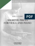 Rebecca Clarke - Pieces Viola & Piano