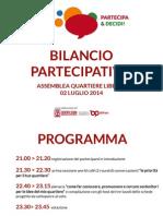 Report Quartiere Libertà 02 Luglio 2014