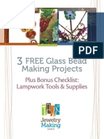 3 Glass Bead Making Projects