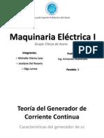 Maquinaria. Generadores Dc, Expo