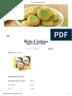 Bolu Cookies _ Blue Band Indonesia