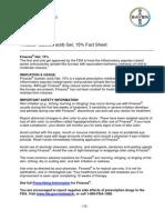 fact sheet - finacea rx rosacea treatment