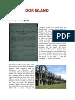 History of Corregidor