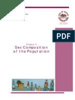 Gender composition Census 2001 India