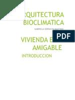ARQUITECTURA BIOCLIMATICA PRESENTACION