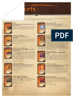 Hero Deck Reference Sheets