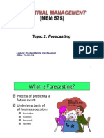 Topic2 Forecasting