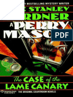 11- The Case of the Lame Canary - Erle Stanley Gardner