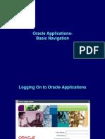 Oracle Apps- Basic Navigation