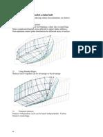 Maxsurf Example.1 - Three Ways to Model a Chine Hull