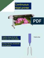 PP Continuous inkjet printer